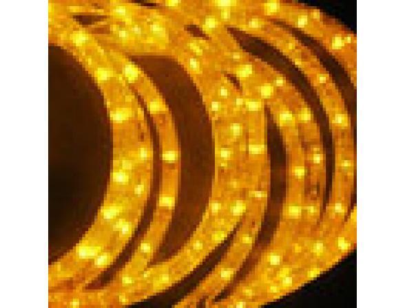 Светодиодные подвески Rich LED Луны 3*0.5 м, цвет: желтый. Прозрачный провод.
