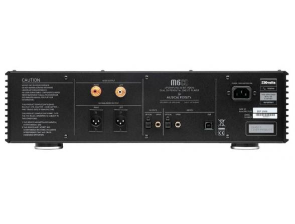 Проигрыватель CD Musical Fidelity M6CD/DAC