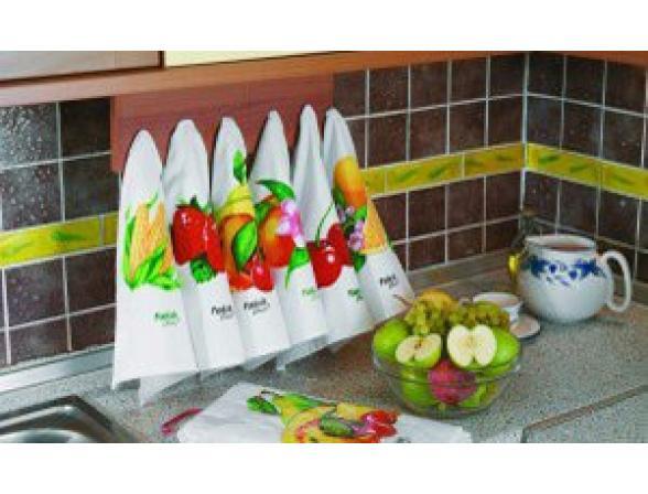 Набор салфеток FAKILI с фруктами 30x50 (6шт)