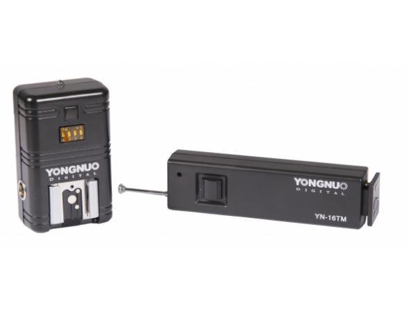 Беспроводной радиопульт ДУ и беспроводной трансмиттер для вспышек Yongnuo YN-16 /C1