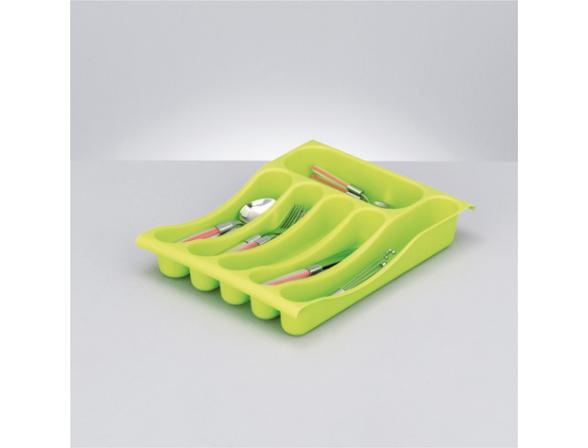 Подставка для ложек Zeller зелен., пластик  24881