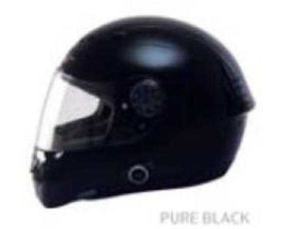 Шлем Yashiro Y170 Pure Black XL