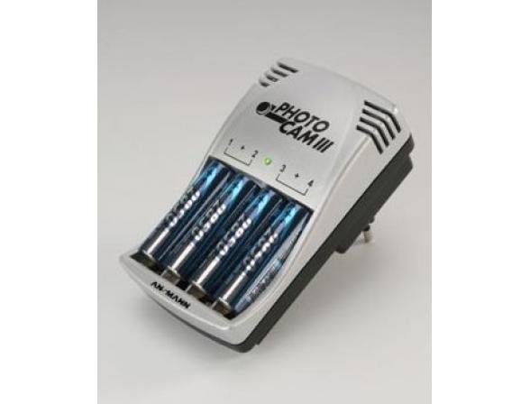 Зарядное устройство Ansmann PhotoCam III Set (6ч)+ 4 акк AA 2850 mAh