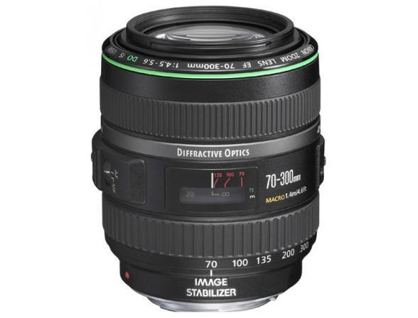 Объектив Canon EF 70-300 f/4-5.6 DO IS USM