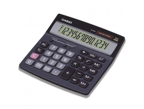 Калькулятор Casio casD-40L