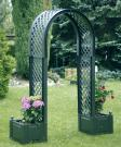 Садовая арка с ящиком для растений KHW 37603
