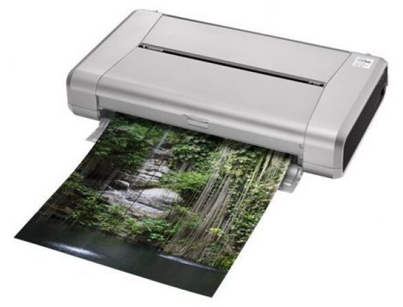 Принтер струйный Canon PIXMA ip100 с батареей