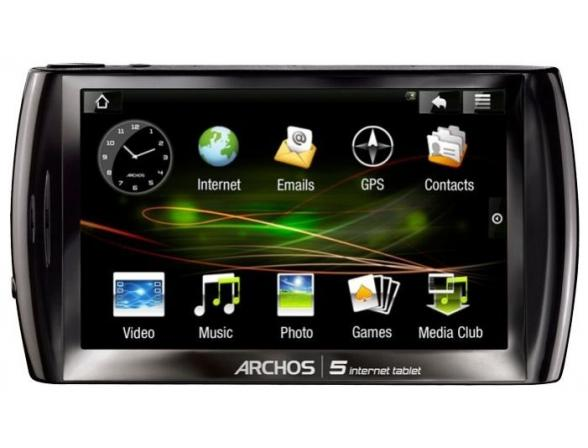 Планшет Archos 5 Internet Tablet 160Gb 501322(25)