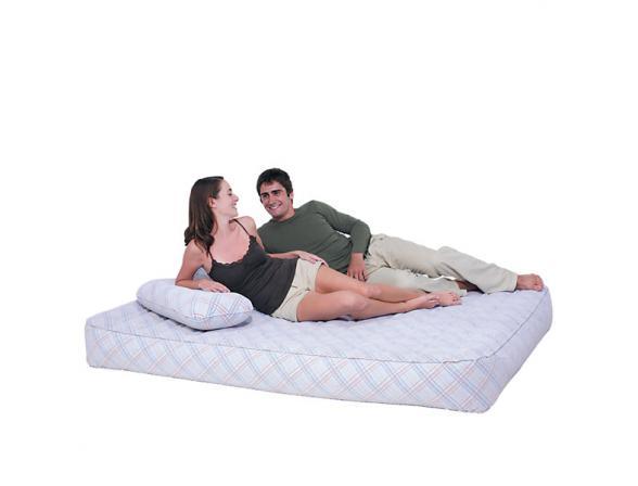 Кровать надувная со встроенным насосом Bestway Reinforced Air Bed Queen 67353