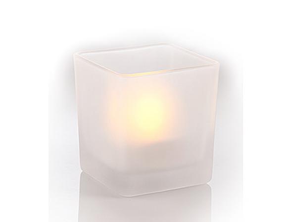 Светодиодная свеча в стакане ЭРА B14 (24/960)