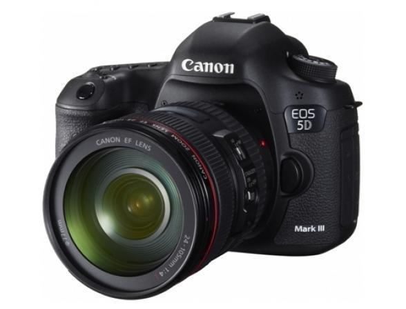 Зеркальный фотоаппарат Canon EOS 5D Mark III Kit 24-105