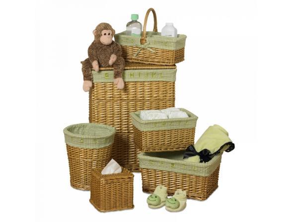 Набор корзин 6 предметов Creative Bath Babys Learn & Store Collection 37000-HO