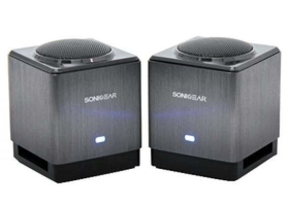 Колонки SonicGear Xenon XFi 200, серебристый