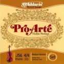 Струны скрипичные D'ADDARIO Medium J56 4/4M Pro-Arte 4/4