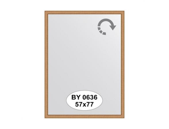 Зеркало в багетной раме EVOFORM вишня (57х77 см) BY 0636