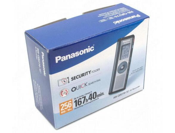 Диктофон Panasonic RR-QR270E9-K