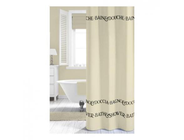 Шторка SEALSKIN Bath&Shower натуральный 180х200см (232231365)