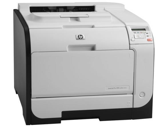 Принтер лазерный цветной HP LaserJet Pro 400 color M451dn