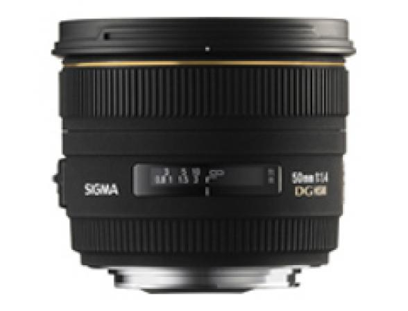 Объектив Sigma AF 50mm F/1.4 EX DG HSM Canon