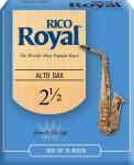 Трости для саксофона альт RICO RJB1025 Royal №2,5 10 шт/упак