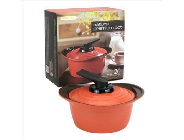 Кастрюля Roichen Natural Ceramic Premium 20 см RPC-20 C/OS