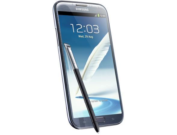 Смартфон Samsung Galaxy Note II 16Gb BlueGT-N7100