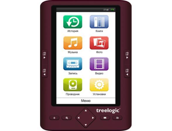 Электронная книга Treelogic Arcus 501 4Gb (Red)