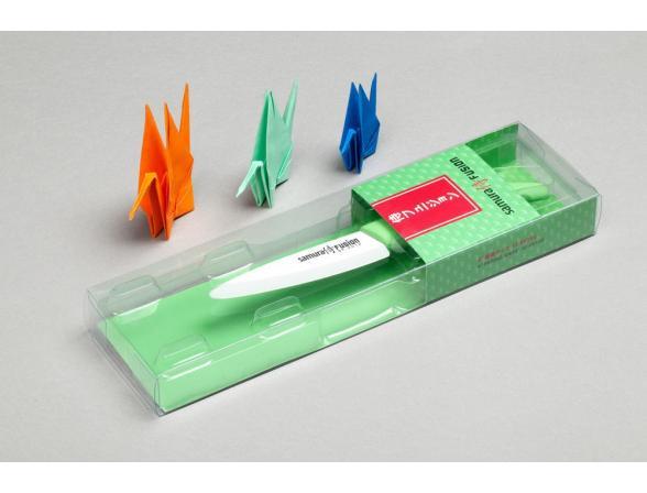 Нож керамический Samura FUSION SF-0010G