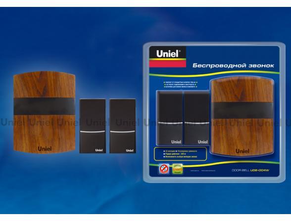 Звонок беспроводной Uniel UDB-004W-R1T2-32S-100M-MB