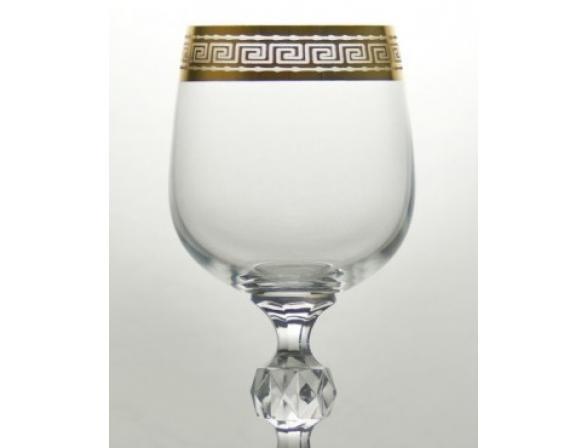 Набор бокалов для вина Bohemia Crystall Клаудия/375479К 230 мл