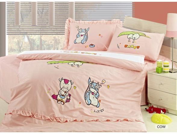 Постельное белье детское ARYA COW 160x220