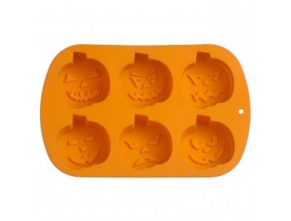 Форма для выпечки PREMIER HOUSEWARES 6 Тыкв оранж.