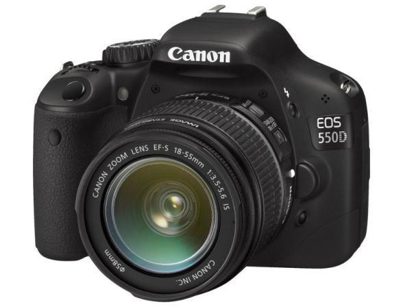 Зеркальный фотоаппарат Canon EOS 550D* KIT 18-55+55-250