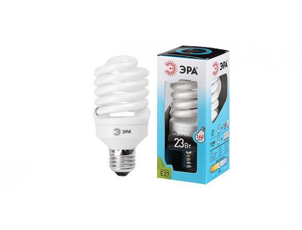 Лампа энергосберегающая ЭРА F-SP-20-842-E27 яркий свет (12/48/1728)