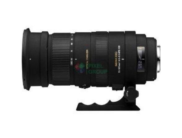 Объектив Sigma AF 50-500mm f/4.5-6.3 APO DG OS HSM CANON