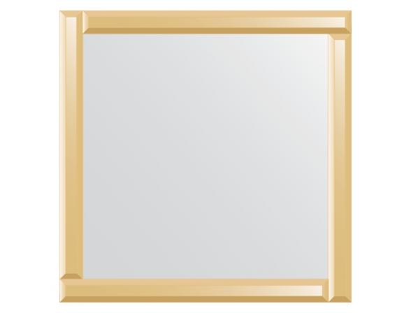 Зеркало с зеркальным обрамлением EVOFORM Style (70х70 см) BY 0821