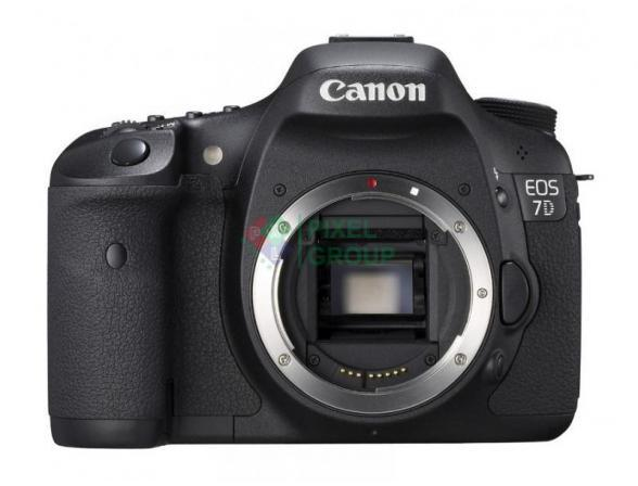 Зеркальный фотоаппарат Canon EOS 7D Body
