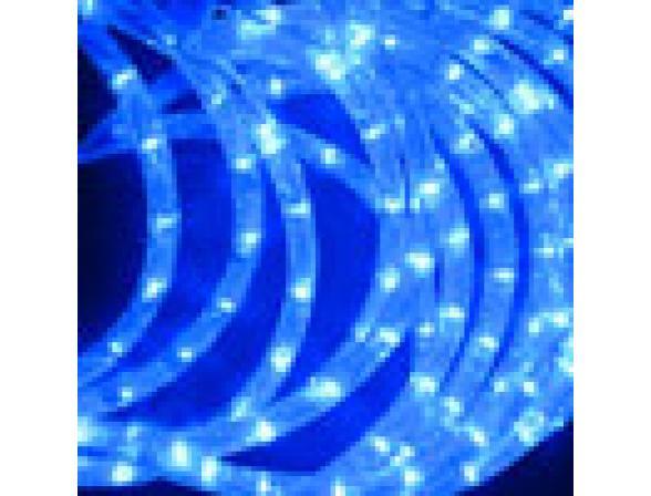 Светодиодные подвески Rich LED Луны 3*0.5 м, цвет: синий. Прозрачный провод.
