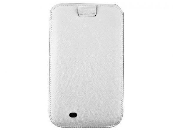 PURO Slim Essential Case для Samsung Galaxy Note (эко-кожа, белый)