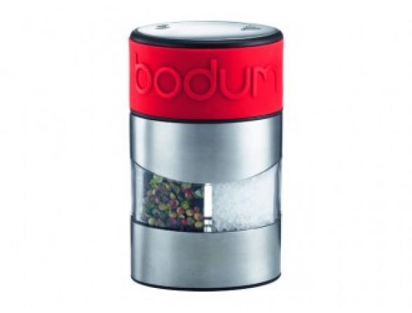 Мельница для соли и перца BODUM Twin красная