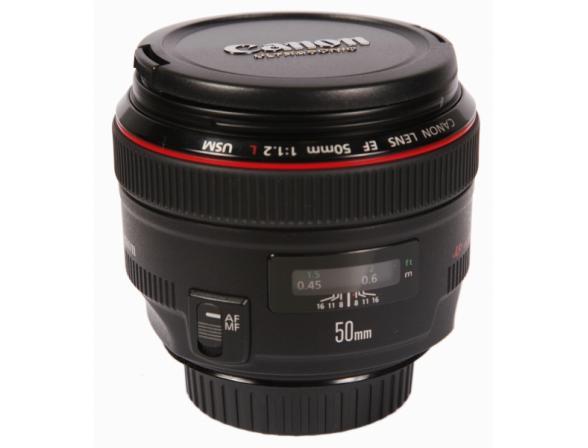 Объектив Canon EF 50 f/1.2L USM