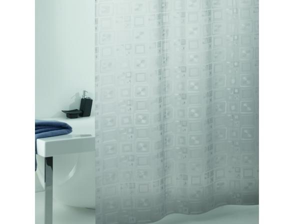 Штора для ванной Bacchetta 180х200 Quadry perlescente