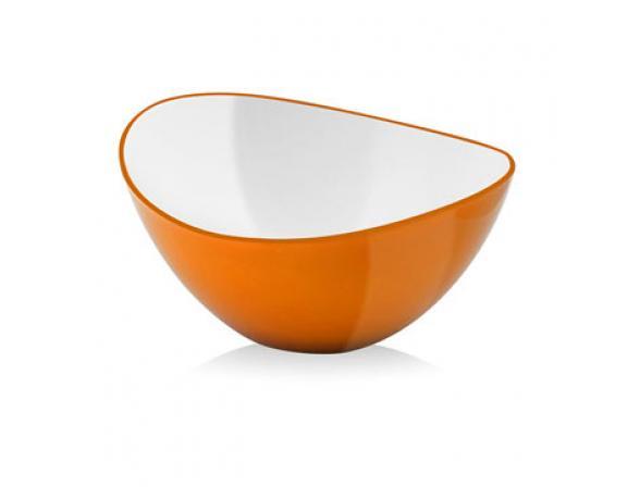 Миска Vialli Design LIVIO 16см оранжевая L-16O