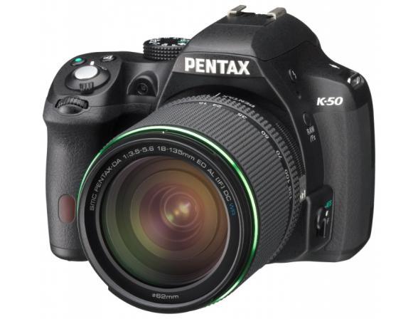 Зеркальный фотоаппарат Pentax K-50 + DA L 18-135 WR*
