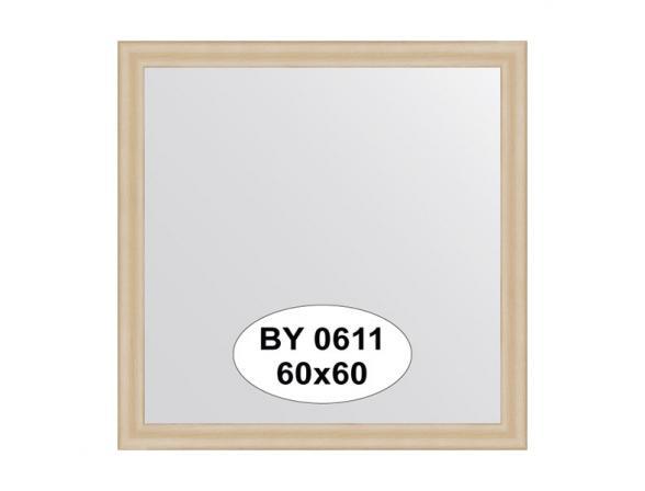 Зеркало в багетной раме EVOFORM бук (60х60 см) BY 0611