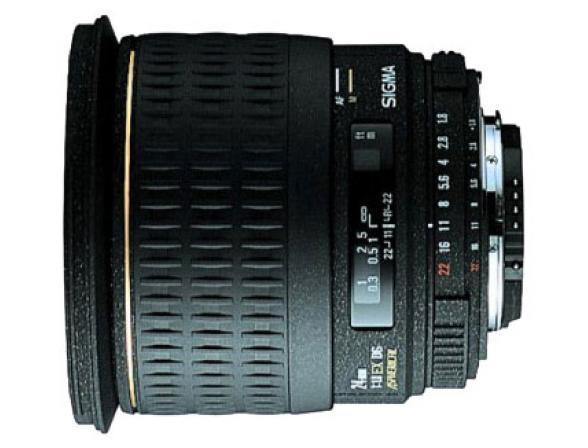 Объектив Sigma AF 24mm F/1.8 EX DG ASPHERICAL MACRO SONY