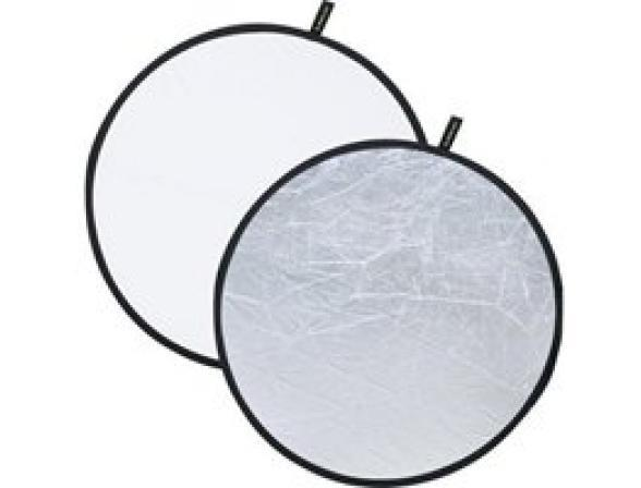 Отражатель FALCON EYES CFR-12S 2-в-1 Silver/White (30cm)