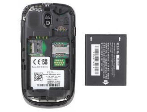 Телефон Alcatel OT602D Carbon Black