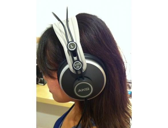 Студийные Hi-Fi наушники AKG K 272HD