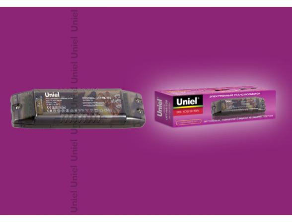 Электронный трансформатор Uniel UET-HA-105